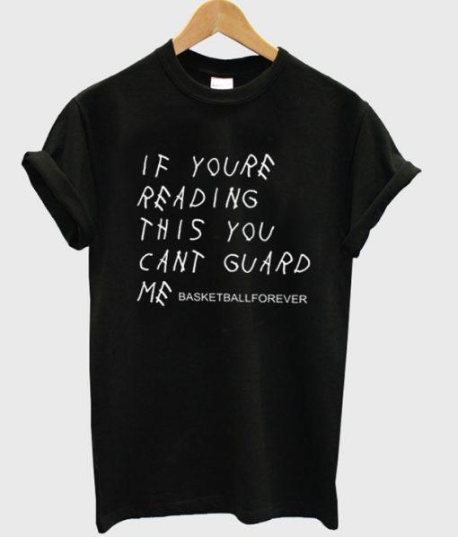 basketball forever t-shirt