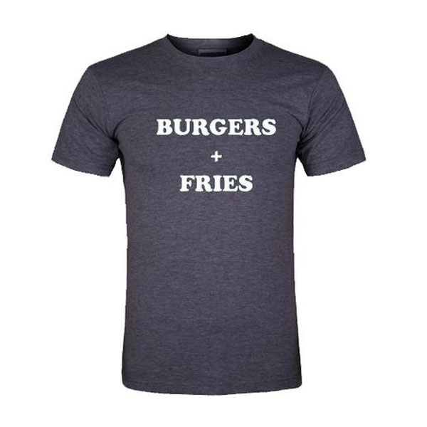 T-shirt will be printed using high performance digital printing technology in full color with durable photo quality. Body Length. Body Width. OUR T-SHIRTS ARE PRINT ON DEMAND PRODUCTS. Get A Life Cheese Burger Hamburger Fries T Shirt Mens SZ M great graphics # $