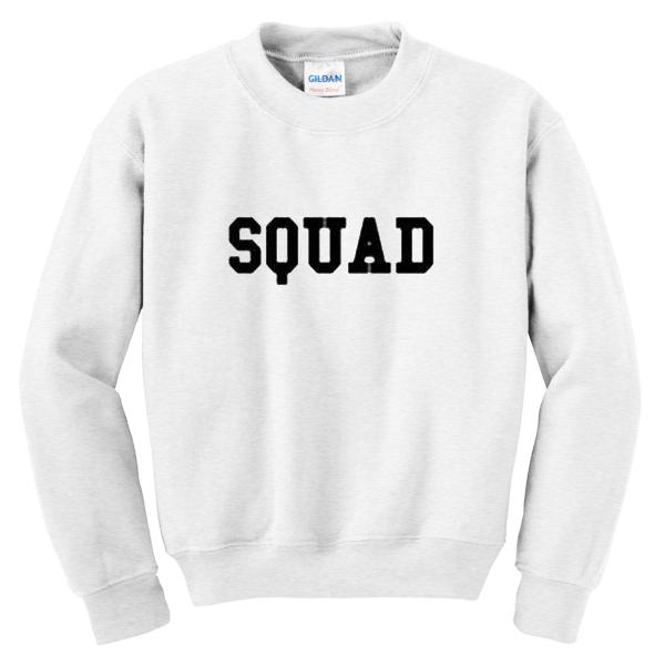 squad sweater
