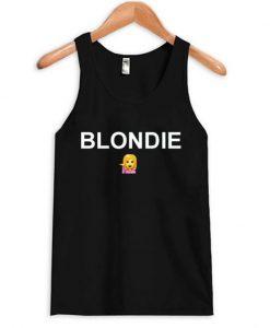 blondie emoji tanktop