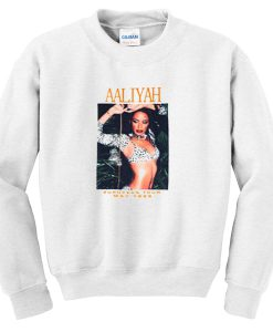aaliyah european tour sweatshirt