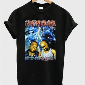 in memory tupac t-shirt