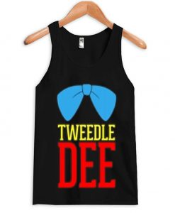 tweedle dee tank top