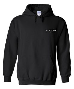 at bottom hoodie