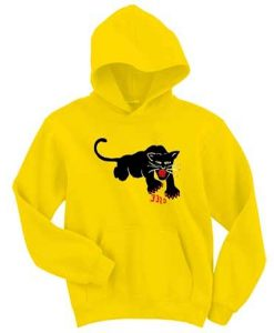 black panther cat 332a hoodie