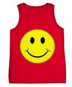 smile red tanktop