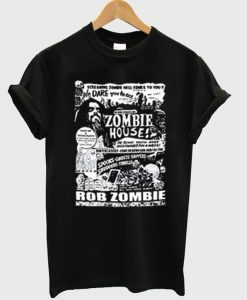 zombie house t-shirt