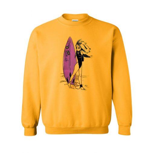 Surf Anime Sweatshirt