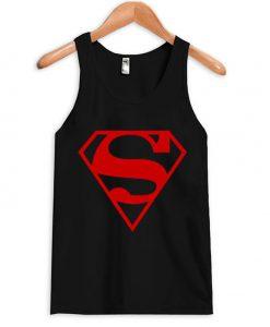 superman logo tank top