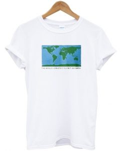the worlds greatest planet on earth tshirt