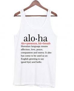 Aloha Definition Unisex Tank Top