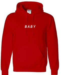baby font hoodie