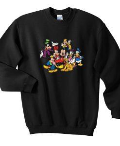 mickey and friends sweatshirt