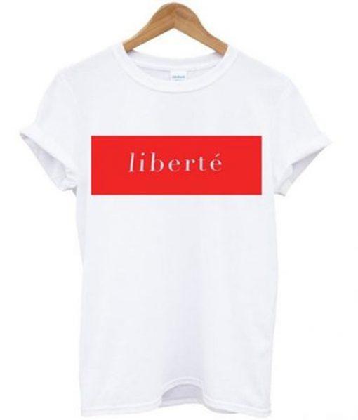 liberte t-shirt