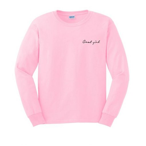 cool girl sweatshirt