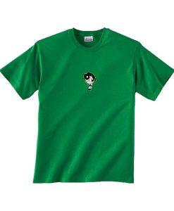 powerpuff green tshirt