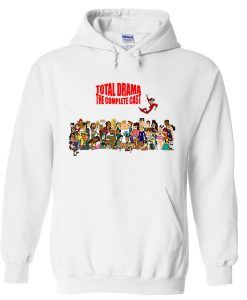 total drama the complete cast hoodie