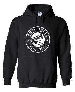 anti idols punk rock hoodie