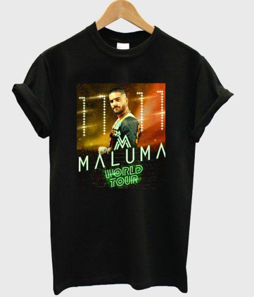 maluma world tour t-shirt
