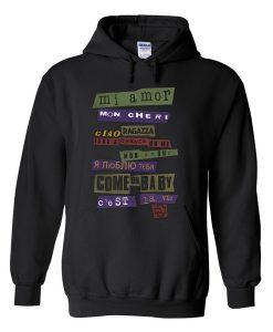 mi amor mon cheri hoodie