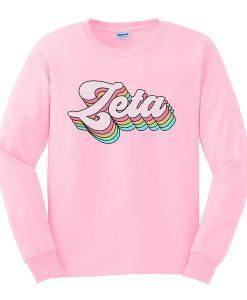 zeta sweatshirt