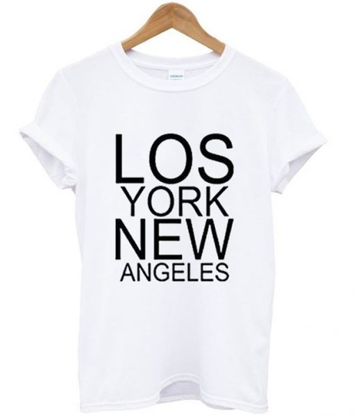 lost york new angeles t-shirt
