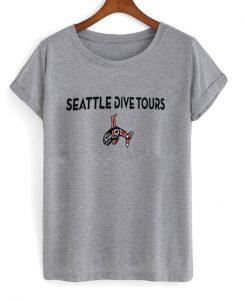 seattle dive tours t-shirt