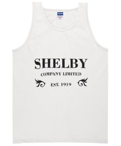 shelby company limited est 1919 tanktop