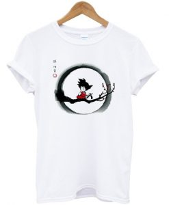 young goku dragon ball t-shirt