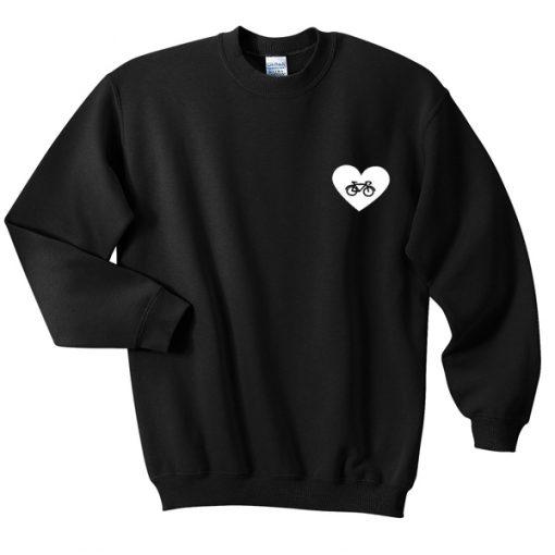 bike love sweatshirt