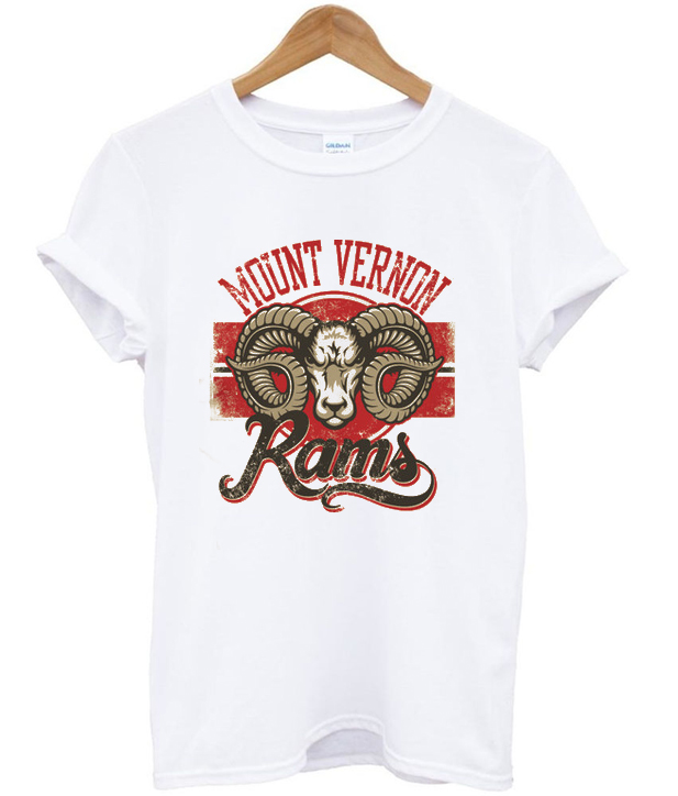 mount vernon rams t-shirt