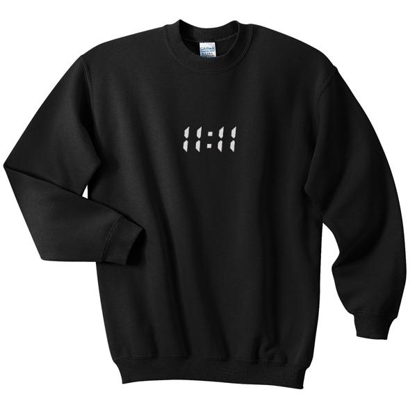 11 - 11 sweatshirt